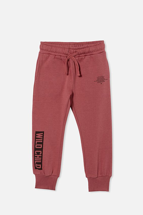 Marlo Trackpant, VINTAGE BERRY/WILD CHILD