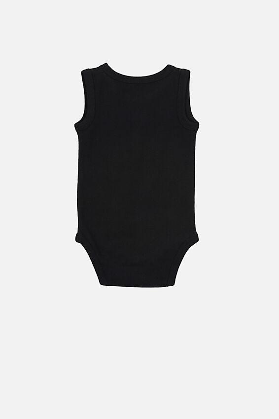 The Singlet Bubbysuit, BLACK