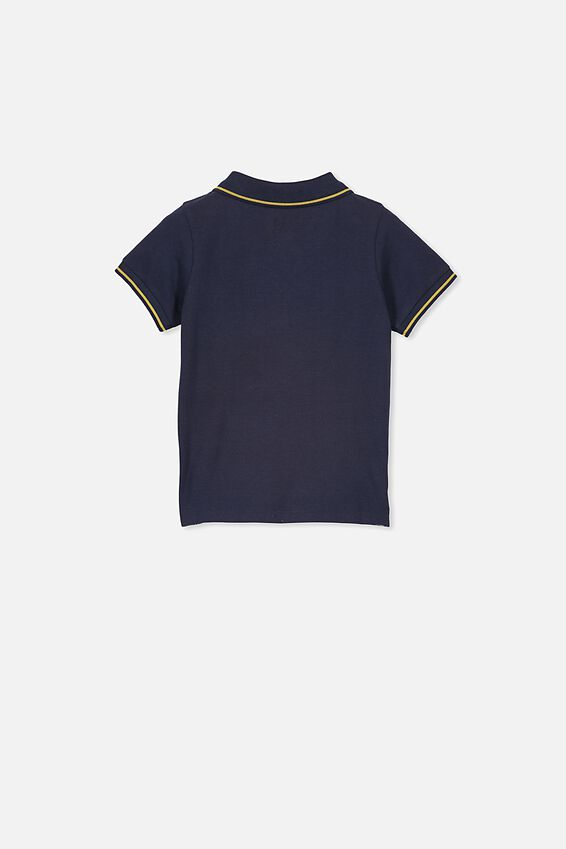 Kendricks Polo Top, INDIAN INK