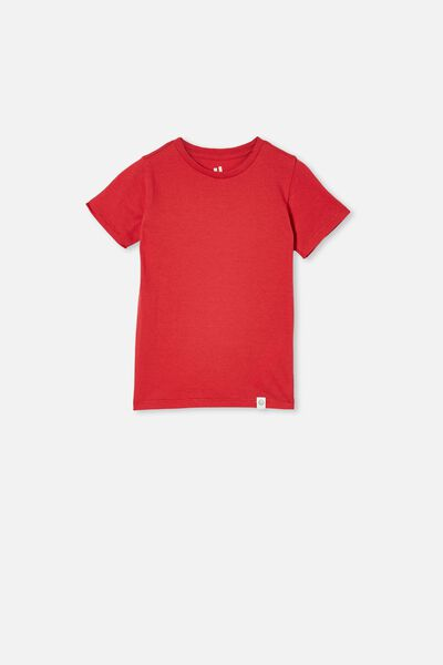 Core Short Sleeve Tee, LUCKY RED