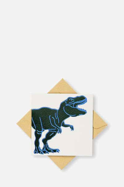 Gift Cards, GREEN AND BLUE DINO