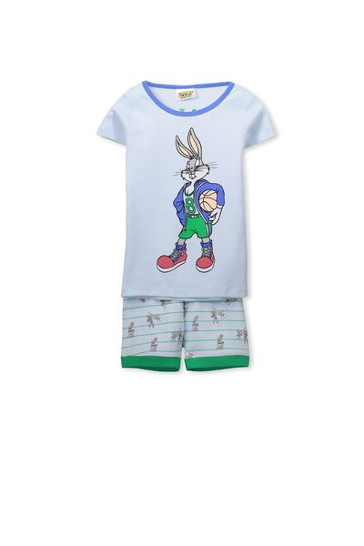 Joshua Boys Short Sleeve Pyjama Set, LOONEY TUNES/BUGS BUNNY
