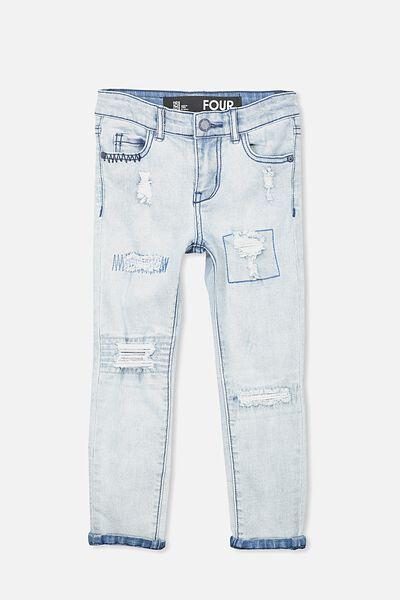 Marshall Slim Leg Jean, SUNBLEACHED BLUE WASH