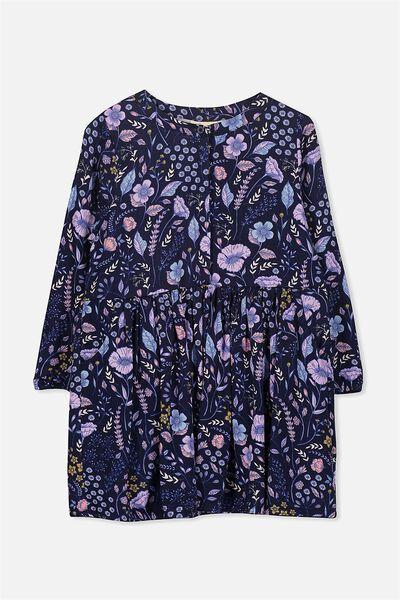 Sami Shirt Dress, PEACOAT/FLORAL