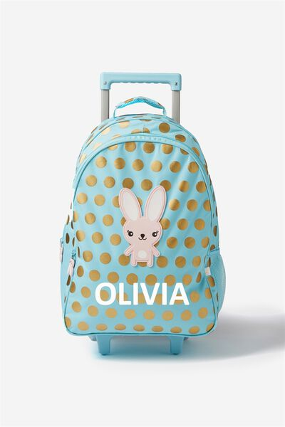 Sunny Buddy Wheelie Suitcase Personalised, MIA