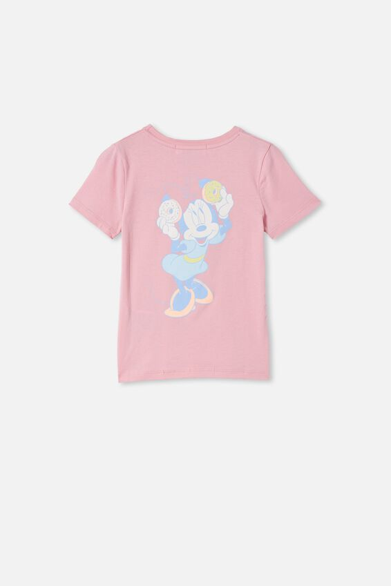 License Short Sleeve Tee, LCN DIS MARSHMALLOW/MINNIE SWEET TREATS