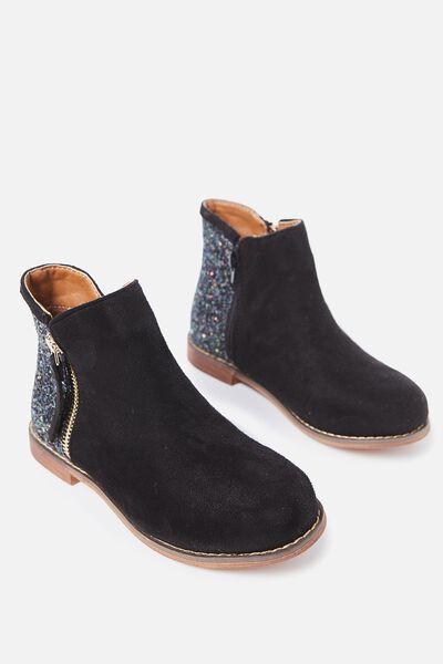 Lola Boot, BLACK