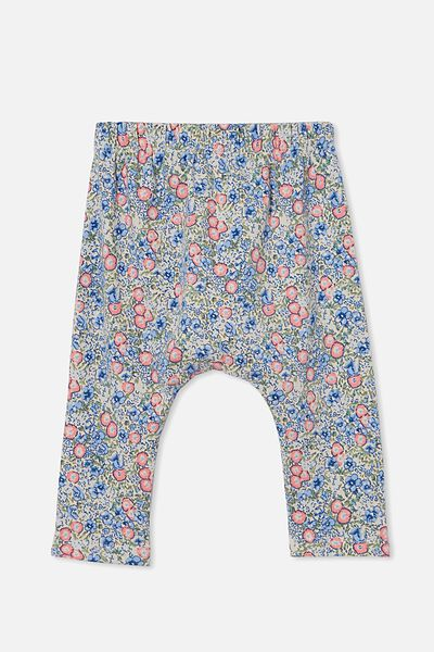 The Legging, DARK VANILLA/DUSK BLUE ANNIE FLORAL