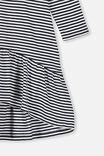 Joss Long Sleeve Dress, INDIAN INK VANILLA STRIPE