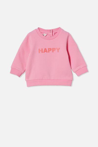 Bobbi Sweater, CALI PINK/HAPPY