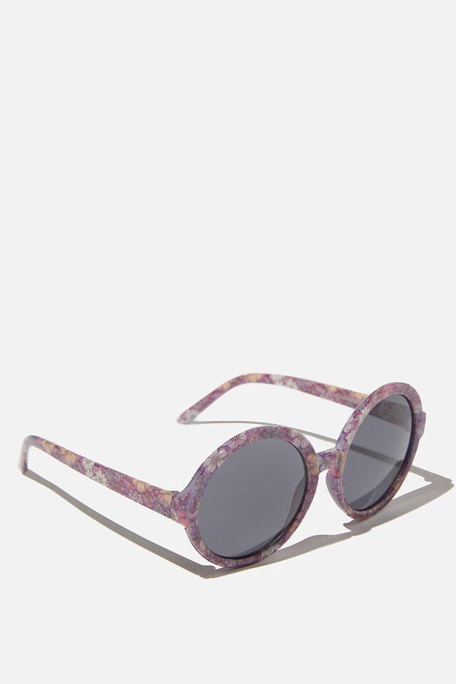 Kids Retro Sunglasses, BRONTE RETRO FLORAL ROUND