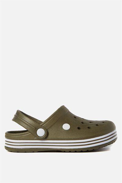 Hippo Clog, CLIVE GREEN