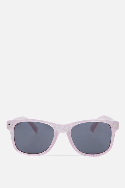 Kids Sunglasses, PINK WITH GLITTER