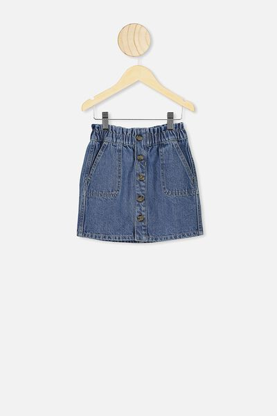 Carmella Denim Skirt, WEEKEND WASH