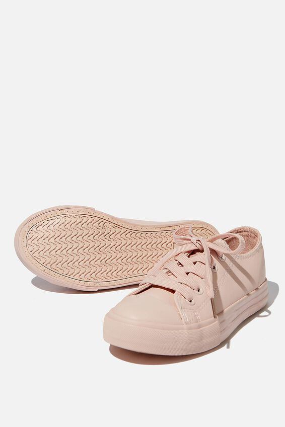 Classic Trainer Lace Up, PEACH WHIP