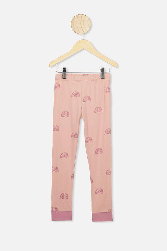 Ruby Long Sleeve Girls Pyjamas, RAINBOW UNICORN