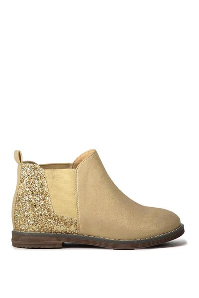Paige Chelsea Boot, GOLD SHIMMER