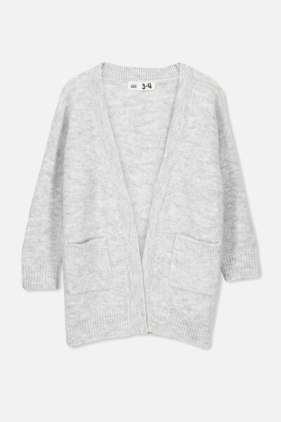 Dakota Cardigan, SUMMER GREY MARLE