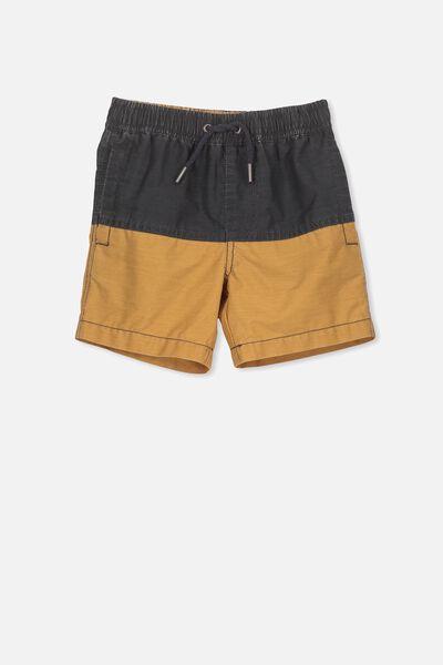 Murphy Swim Short, PHANTOM/BISCUIT SPLICE