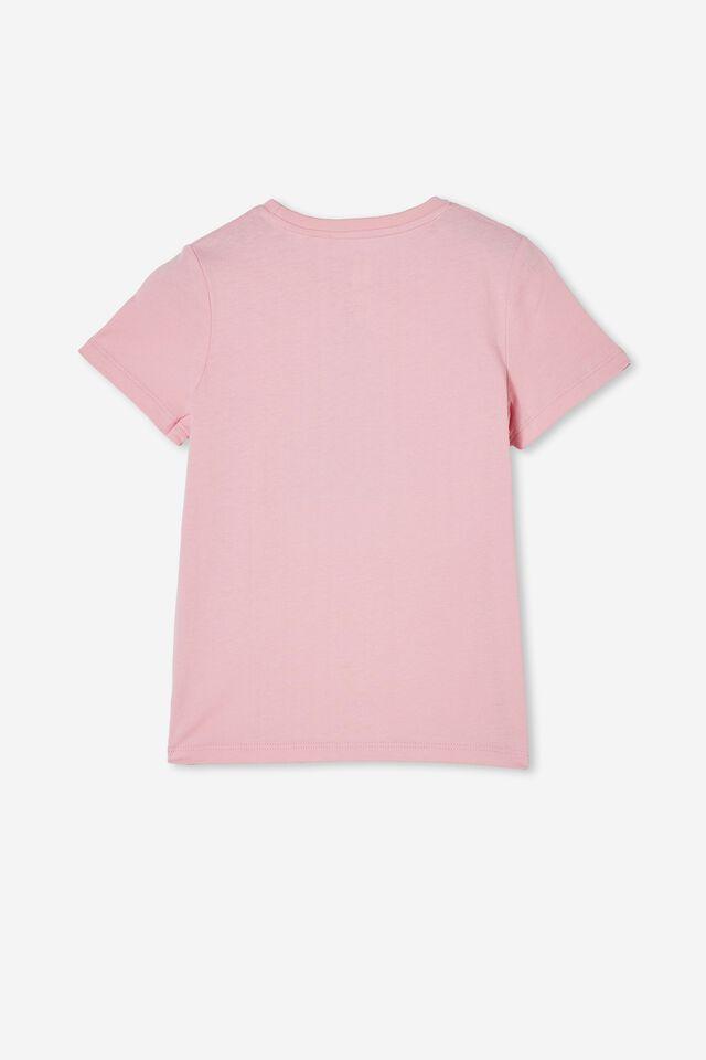 Stevie Short Sleeve Embellished Tee, CALI PINK/ XMAS TREE
