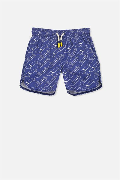 Murphy Swim Short, INK BLUE/SKATEBOARDS