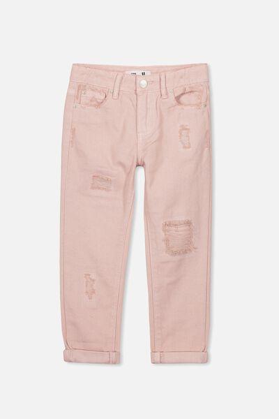 India Slouch Jean, PEACH WHIP