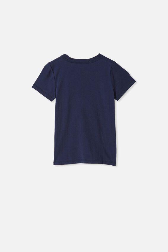 Max Short Sleeve Tee, NAVY / ROARSOME