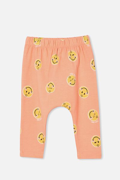 The Legging Lcn, LCN SMI MUSK MELON/SMILEY BABY