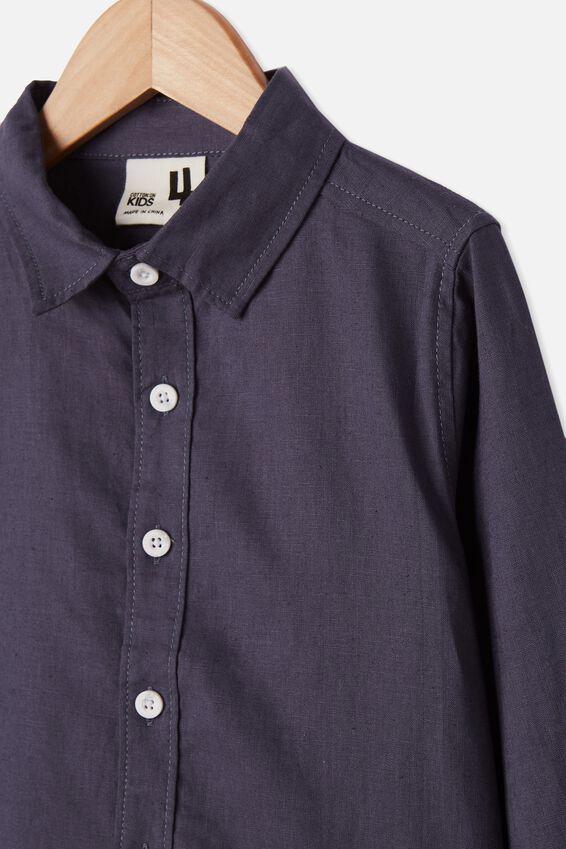 Harper Long Sleeve Shirt, VINTAGE NAVY