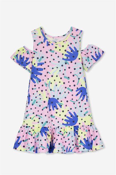 Miranda Dress, PINK LADY/CRAZY CORAL