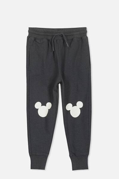 License Slouch Trackpant, PHANTOM/MICKEY KNEES