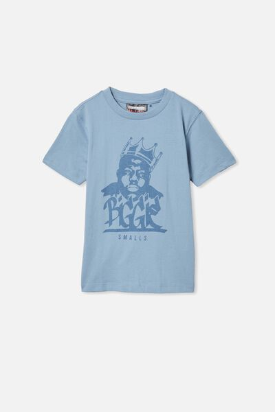Co-Lab Short Sleeve Tee, LCN MT DUSTY BLUE/BIGGIE