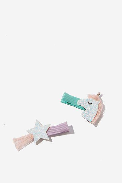 Hair Clip  - Unicorn Sparkles, UNICORN & STAR