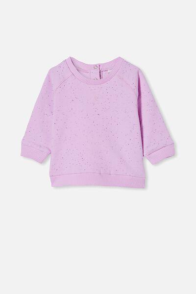 Harley Sweater, PALE VIOLET/DUSTY PURPLE NEP