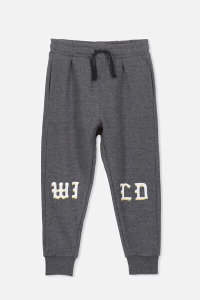 Lewis Trackpant, CHARCOAL MARLE/WILD