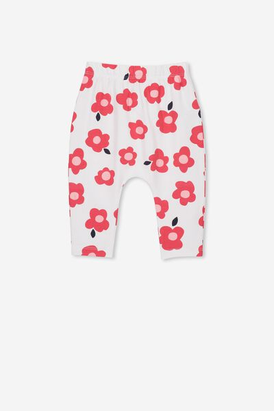 The Legging, WHITE/HAPPY FLORAL