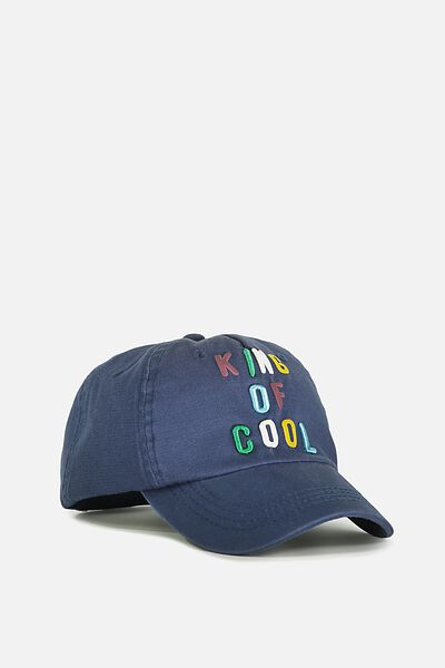 Baseball Cap, KING OF COOL/CAPTAINS BLUE