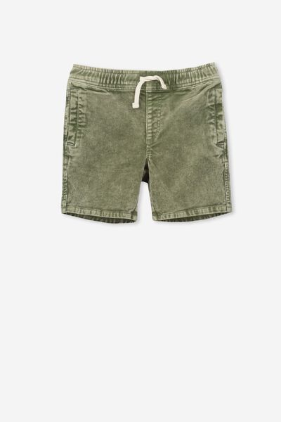 Luca Cord Short, DUSTY KHAKI WASH