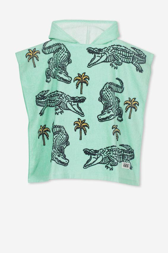 Personalised Hooded Towel, CROC