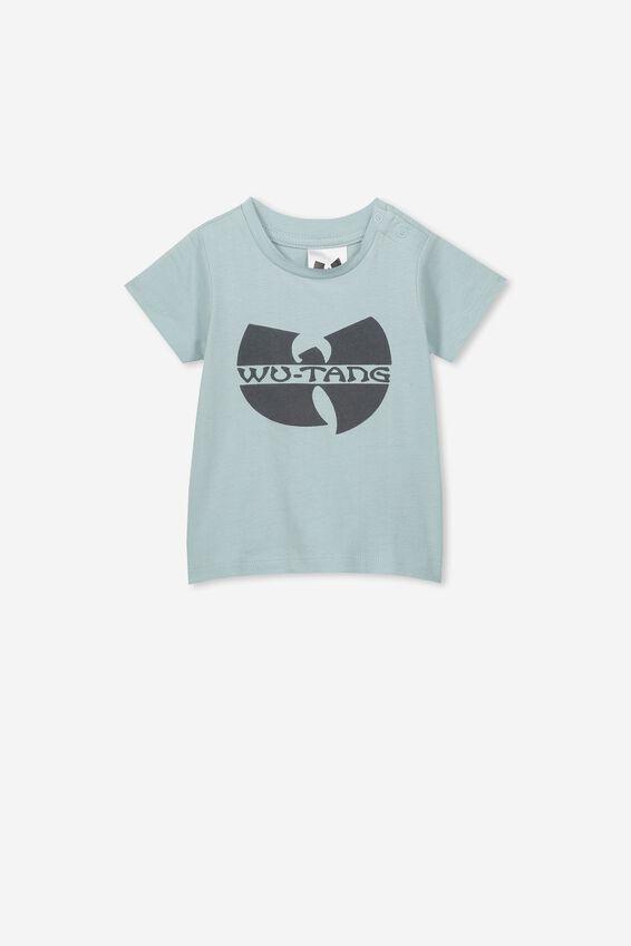 Wutang Short Sleeve Baby Tee, LCN LN ETHER/WUTANG
