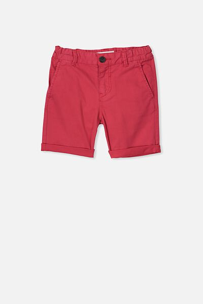 Walker Chino Short, TOMATO PUREE