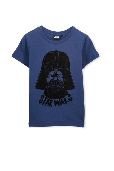 Boys Star Wars Short Sleeve Tee, CAPTAIN BLUE/STAR WARS