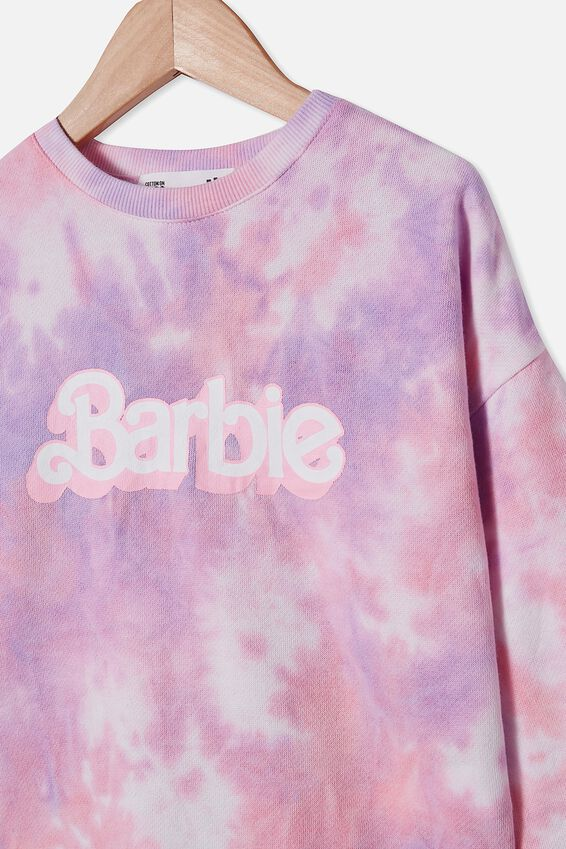 License Crew, LCN MAT OMBRE TIE DYE/BARBIE LOGO