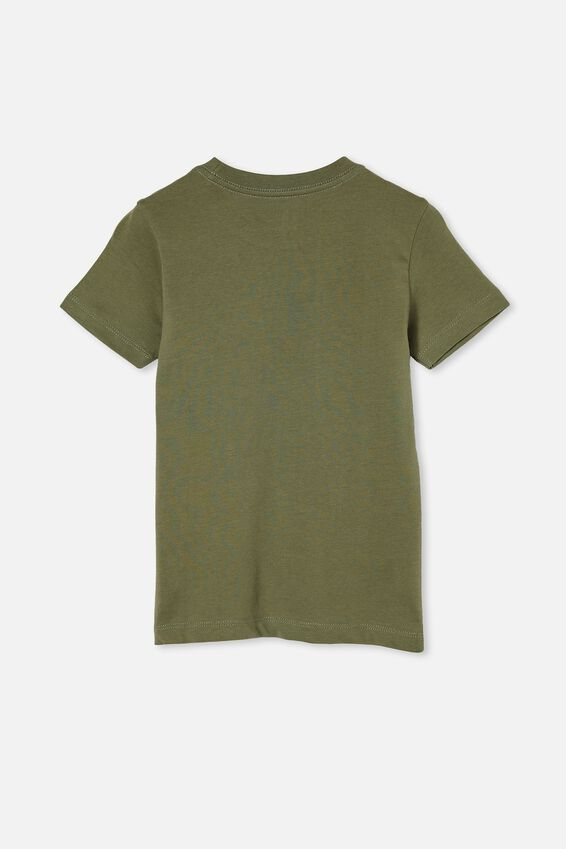 Max Short Sleeve Tee, SWAG GREEN/ PALM SMILE
