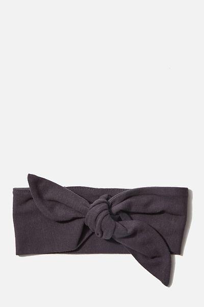 The Tie Headband, GRAPHITE GREY