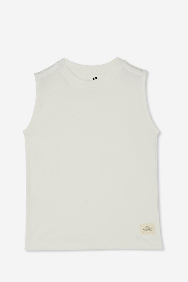Otis Muscle Tank, RETRO WHITE