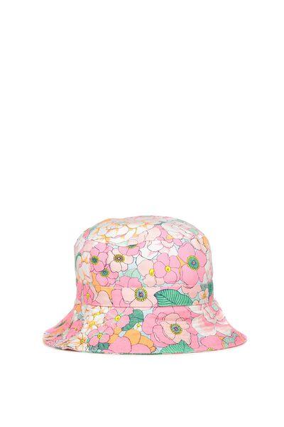 Kids Bucket Hat, NEW YORK FLORAL