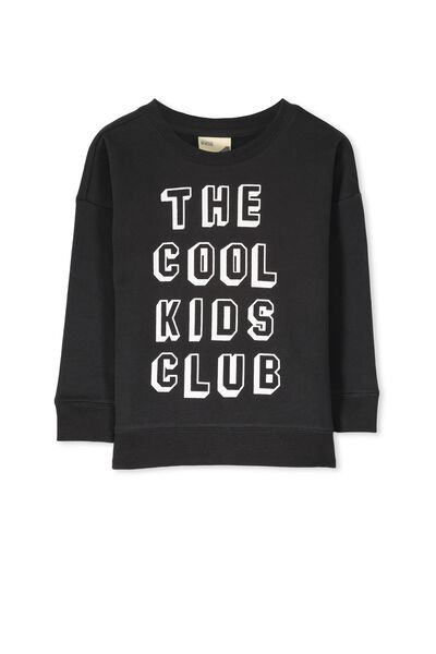 Leon Crew Sweatshirt, PHANTOM/THE COOL KIDS