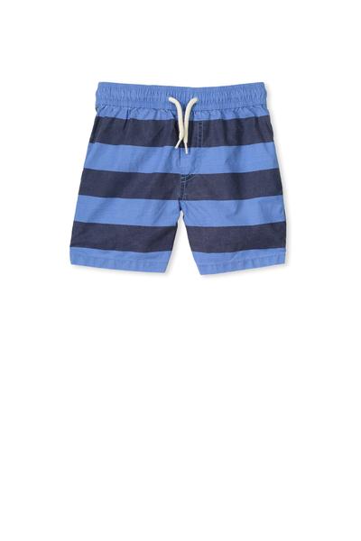 Murphy Swim Short, RETRO BLUE STRIPE
