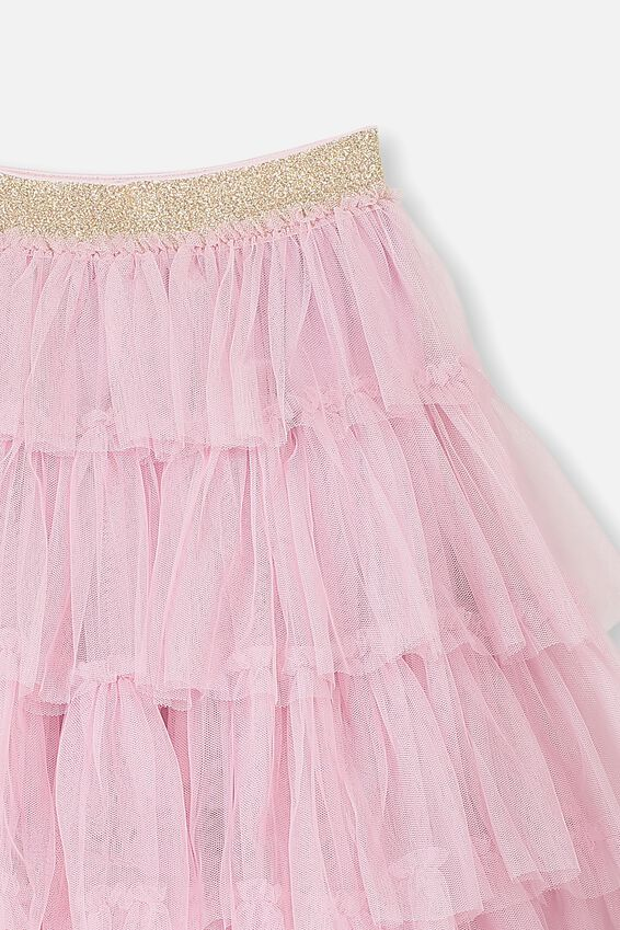 Trixiebelle Tulle Skirt, FRAGRANT LILAC/TIERED MIDI